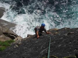 Climbing Bosigran